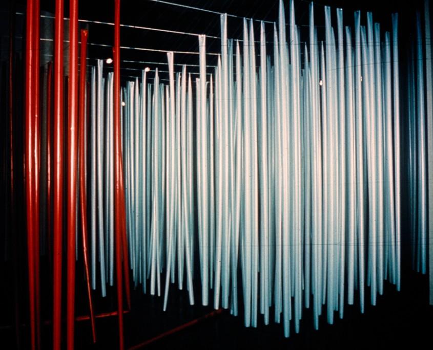 Jongle-nouilles - (pénétrable), 1969