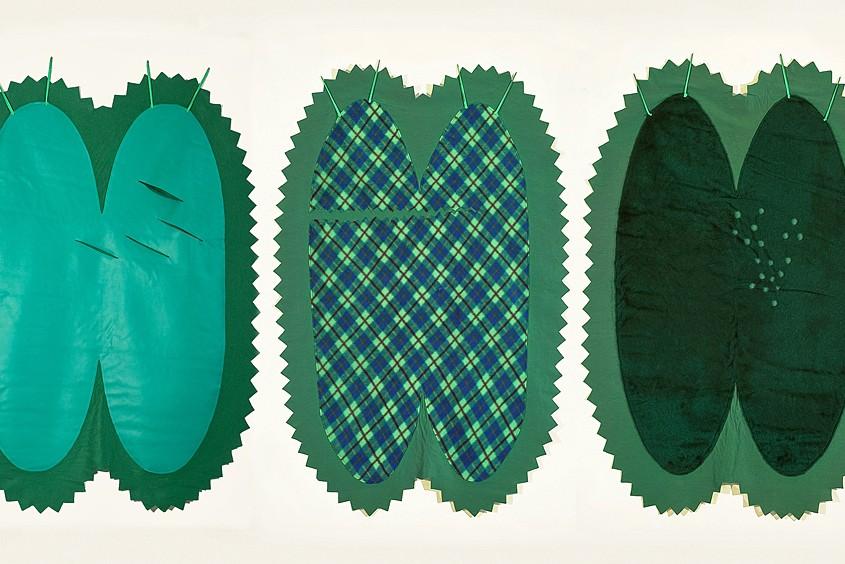 Peaux de concombres - (triptyque), 1975