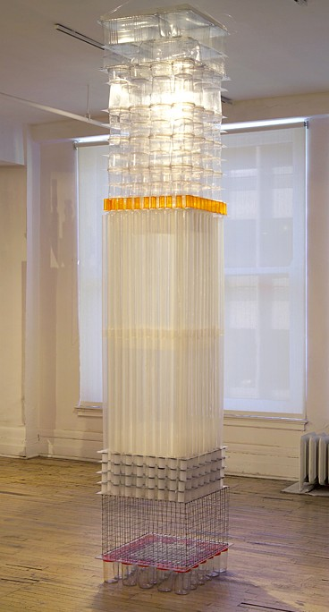 Colonne transparente - 2004