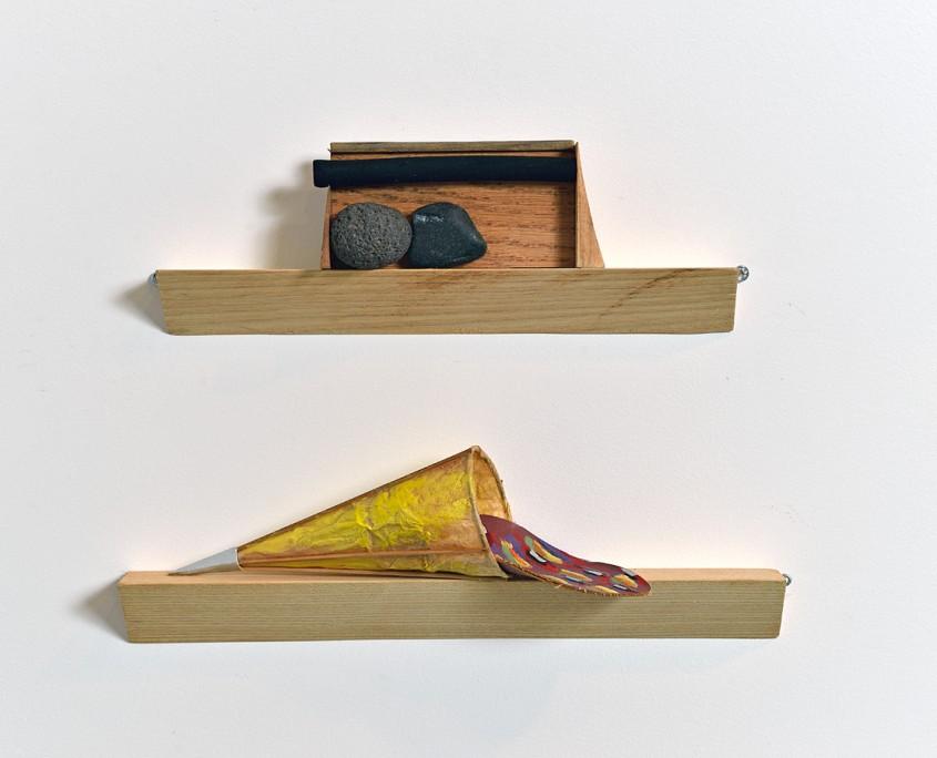 Offrande 1 (bas) et Offrande 10 (haut), 1994