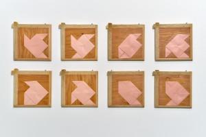Suite pour un pliage rose, COZIC 1978