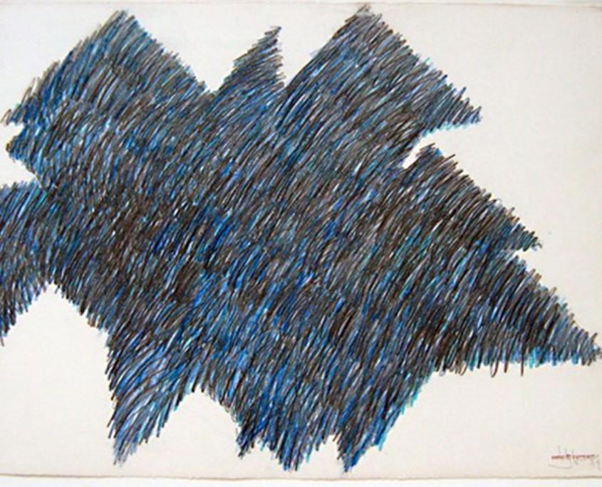 Mélange des genres (droite), 1979