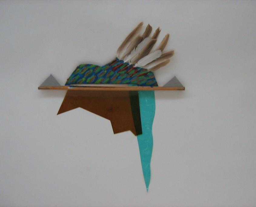 Paysage bleu, 1986