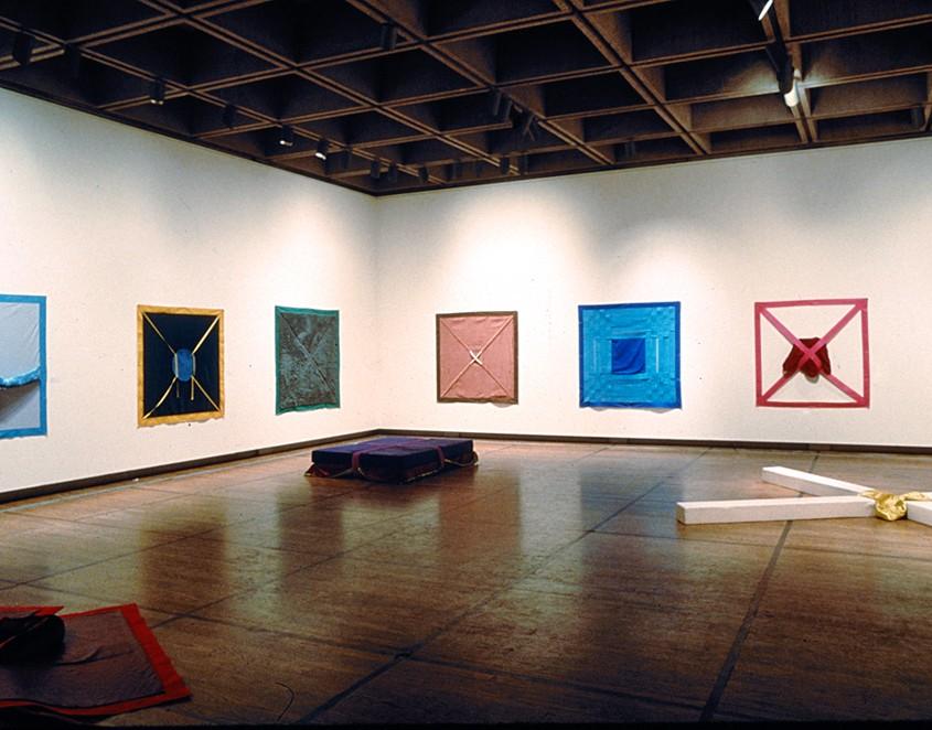 Surfacecentres et Volumilieux - (ensemble de 18), 1977