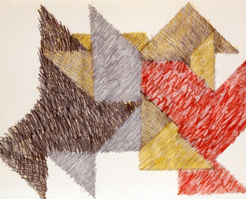 Kamasoutra - ensemble de 40 dessins - 1978/79