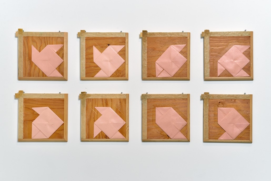 Suite pour un pliage rose, 1978